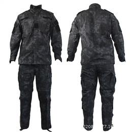 Uniforme del ejército camo online-Camuflaje de calidad superior del uniforme del ejército de los EE. UU. CP ACU Camuflaje táctico uniforme de camuflaje táctico tipo BDU