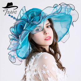 2222c69f2878e 2019 sombreros europeos Nuevo estilo de 2018 para mujer y América. Sombrero  de gasa Eugen