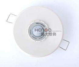 sensor pir piricular Desconto Geagood Humano Sensor corpo do interruptor 220V Infrared Sensor Switch redondo branco Sensor interruptor PIR Incorporado teto Tipo 3 Wire System