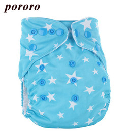 Wholesale Diaper Gauze - Wholesale Newborn Baby Reusable 10Pcs Bag Cloth Diaper Cover Diapers Couche Fralda Color Button Baby Wizard Diapers Gladbaby
