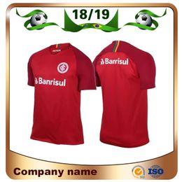 n r Promotion 18/19 Internacional RS maillot de football 2019 brésilien international domicile maillot rouge N. LOPEZ N. PATRICK POTTKER uniforme de football