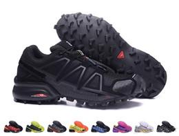 2018 recién llegado para hombre Speedcross 4 zapatillas de deporte barato al aire libre a prueba de agua zapatos para correr zapatillas atléticas tamaño EUR40-47 envío gratuito desde fabricantes