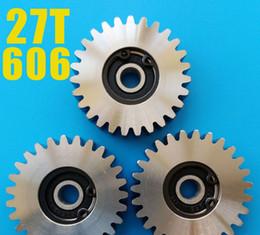 Электрический трехколесный велосипед мотор шестерни двигателя сцепления нейлона 23 28 31 зубы из нержавеющей стали передач для 8fun YOUE электрический велосипед мотор запасные части от