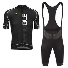 Wholesale gel pants - 2018 NEW Cycling Jerseys Short Sleeves set Breathable Summer Cycling Shirts Quick Dry Bicycle Sportswear 9D gel pad Cycling Bib Pants Ropa