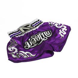 фиолетовые шорты Скидка фиолетовый унисекс муай тай бокс ММА фитнес тренировочные брюки боксерские шорты Тигр Муай Тай дешевые ММА шорты кикбоксинг шорты boxeo
