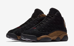 Wholesale 13 Wide - 2017 free shipping Re 13 Gym Red HE GOT GAME Space Jam Chicago UNC Win like 82 Men Basketball Shoes OLIVE High Athletic Sport Sneakers 8-13