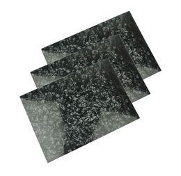 3pcs A4 размер 0.46 mm Жемчужина черный Целлулоид лист 210x297mm для накладку пользовательские инкрустации гитара Pick Luither от