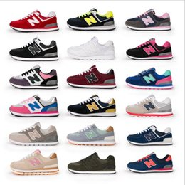 Wholesale Champagne C - New Four generations admission women balanced casual sports shoes lovers shoes running shoes size 36-40