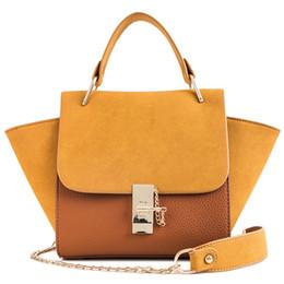 saco de couro do estilo europeu do mensageiro Desconto Moda Estilo Europeu Bolsas Femininas PU Bolsa De Couro Das Mulheres Bolsa De Grife Senhoras Grande Ombro Messenger Bag Tote Sacos
