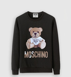 Hot sale 2018 New burst paragraph high-quality cashmere Cartoon image MOS sweater Men's casual and personality sweaters Sexy#M6001