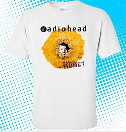 Canada 2018 Nouveau T-shirt blanc taille S à 3XL pour hommes de RADIOHEAD Pablo Honey Rock Band Offre