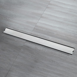 ducha o cocina. 80 cm accesorios antiolores para cuarto de ba/ño para azulejos de suelo Desag/üe de desag/üe de acero inoxidable escurridor