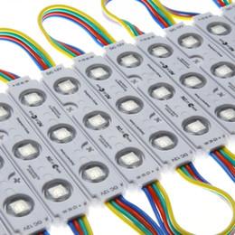 L'iniezione delle luci del modulo principale online-Di alta qualità 5050 RGB 3leds Modulo di Iniezione Luce DC12V 20 Lumen / Led impermeabile LED luce di pubblicità Per Channel Letters sign lettera