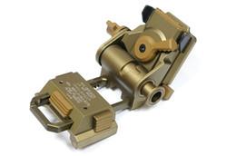 Montures en or en Ligne-Casque rapide L4G24 NVG Night Vision CNC fabriqué avec support de lunette de lunette L4 G24 noir beige argenté