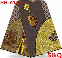 Wholesale Popular Fabric Prints - High quality popular african wax prints fabric hollandais wax african ankara fabric dutch wax 6yards cotton fabric for sewing HH-A125