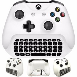 microsoft xbox one wireless controller Coupons - Mini Wireless 2.4G Mini Wireless Keyboard Message for Microsoft Xbox One Controller Chatpad for Xbox one
