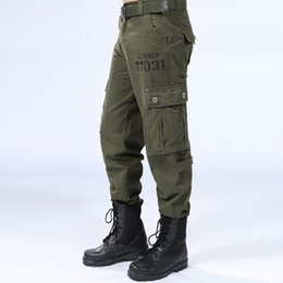 df1425e897284 Men Tactical Pants Hunting Army green Combat Outdoor Sports Hiking Pants  Men's Fishing Climbing Training Trousers