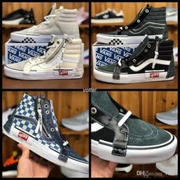 2018 Vault OG Sk8-Hi SLIP ON CAP LX Women Men Old Skool Casual Shoes  Designer Canvas Zapatillas de deporte Sport Running Sneakers 36-44 971c96569