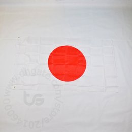 Japan flagge online-Japan / Japanische Flagge nationale Freies Verschiffen 3x5 FT / 90 * 150cm Hang Nationalflagge Japan japanische Hauptdekoration Banner