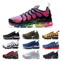 Canada 2019 nouvelle arrivée Nike Air Vapormax TN Plus chaussures de course pour femme BETRUE noir blanc rouge coucher de soleil Hyper Violet Cool Grey baskets griffées pour hommes taille 36-45ke supplier new cool shoes Offre