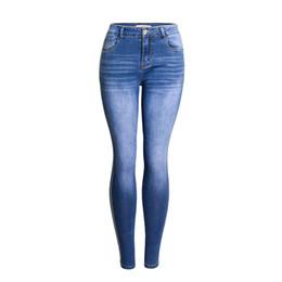 Canada Europe et les États-Unis mode jeans sexy pour les femmes, pantalons serrés Slim jeans élastiques pour femmes pantalons cheap jeans elastic tight Offre