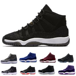 best sneakers 87ca8 51fb4 ... 11 Prom Night Gym Red Midnight Navy Schwarz Stingray Gezüchtet Concord  Space Jam Schuhe 11s Mens Womens Kids Basketball Sneaker rabatt großhandel  kinder ...