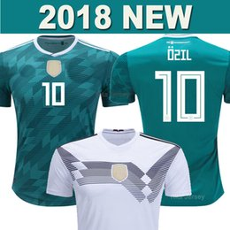 117735611 2018 OZIL GERMANY soccer jersey World Cup KROOS MULLER National team  HUMMELS DRAXLER KIMMICH WERNER REUS SANE THAILAND AAA football shirt