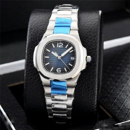 Wholesale sapphire party dress - Nautilus Watch Famous Women AAA Luxury Quartz Watches Girl Party Dress Montre de luxe Stainless Orologio di Lusso Wristwatch Relojes Mujer