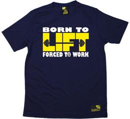 SWPS родился, чтобы поднять вынуждены работать сухой посадки спортивная футболка от