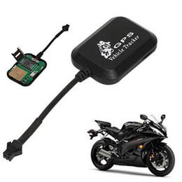 seguimiento del coche gsm en tiempo real Rebajas Sensor de Radar Mini Vehículo Motocicleta Bicicleta anti sistema de robo LBS + GPS / GSM / GPRS Alarma Tiempo Real Car Tracker Monitor de seguimiento