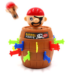 Argentina Pirate Funny Barrel Novelty Toy Bucket para niños y adultos Lucky Stab Toys Game with Breathtaking Curious and Interesting - Gran tamaño para T Suministro