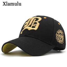 12e37ebae62 Xlamulu New Snapback Baseball Caps Hats For Men Casquette Women Bone Casual  Hat Gorras Letter B Trucker Fitted Dad Hat Caps