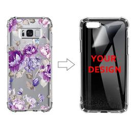 Coperture del telefono delle cellule diy online-Custodia antiurto per Samsung Note9 S9 S9 Plus Antiurto Custodia morbida per TPU DIY il tuo design Completo per cellulare