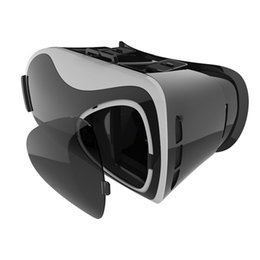 Wholesale Helmet Google - UGP V5 3D VR Glasses For Smartphone 3.5-6 Inch Virtual Reality Helmet Google Cardboard Immersive Head-mounted Cinema Goggles