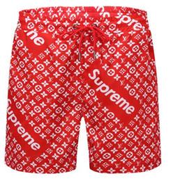 Wholesale Casual Life - 2018 New style BoardShorts Mens Summer g Beach Shorts Pants High-quality Swimwear Bermuda Male Letter Surf Life Men Swimming beach Shorts