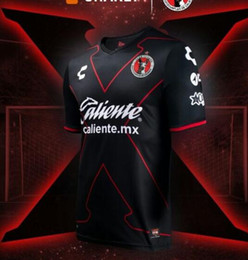 Wholesale Mexico Football Jersey - TOP QUALITY 17 18 Mexico Club Tijuana Home away Soccer Jersey Xolos de Tijuana G.BOU CORONA LUCERO MALCORRA KALINSKI L.CHAVEZ football shirt