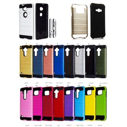 Wholesale Iphone Heavy Duty Metal Case - Case For LG Stylo 3+ Back Cover Case Silicone Rugged Hybrid Heavy Duty Shockproof Armor Cover For LG Tribute Dynasty(X210)