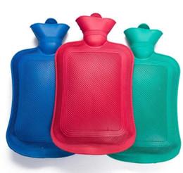 Bolsas de agua caliente envío gratis online-Bolsa de agua caliente de alta densidad de caucho de alta densidad de llenado Bolsa de agua caliente Bolsa de calentamiento de mano al aire libre envío gratis