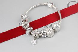bangle bianco giadeite Sconti 2018 nuovo braccialetto del pendente del fiore del sole per i monili del braccialetto di DIY dei monili di stile della signora