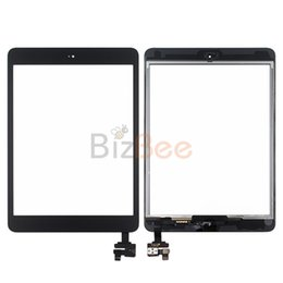 Wholesale Oem Repair - For Apple iPad mini1&2 Digitizer with Home Button Touch Screen Assembly with OEM Small Parts Repair Replacement High Quality DHL Free