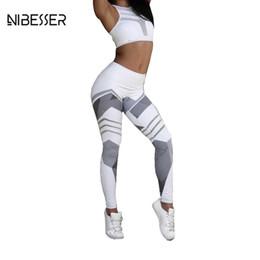 Wholesale Print Leggins Xl - Nibesser 2017 Fashion Work Out Elastic Leggings Women Printing Fitness Pencil Pants Female Casual Sweatwear Skinny Leggins