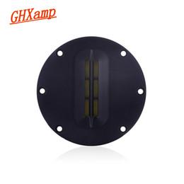 Wholesale Universal Ribbon - GHXAMP 4 INCH Portable Ribbon Tweeter Aluminum Belt Treble Diaphragm LoudSpeaker Ribbon Tweeter Soundboox DIY 8OHM 15W 30W 2PCS