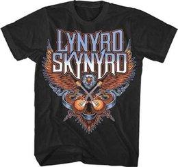 Lynyrd Skynyrd Eagle Guitars T Shirt S-M-L-Xl-2Xl New Official T Shirt T-Shirt  Men Boy Tailored Custom Short Sleeve 3XL Group T Shirts e4ff0e998