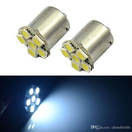 park bulbs Australia - wholesale White 1157 BAY15D 6SMD 5050 Turn Parking Reverse Brake Car LED Light Bulb Lamp #1671