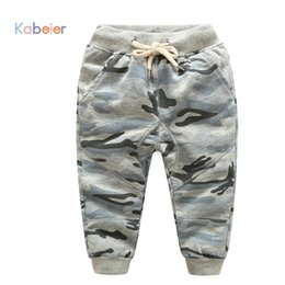 Wholesale Woolen Clothes Design - 2-10Y Boys Camouflage Pants Children Outdoor Camo Pants Kids Army Design Colorful Trousers for Spring & Autumn Girls Clothes