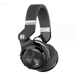 Auriculares de turbinas online-Alta calidad Bluedio Headest T2 + Turbina 2 Plus plegable Bluetooth Auricular Bluetooth 4.1 Auriculares Soporte Tarjeta SD y Radio FM
