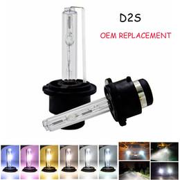 2pcs PAIR 35W 3000K 4300K 5000K 6000K 8000K 10000K 12000K Genuine OEM Onyx HID Xenon D2S D2R for Osram or Philips Headlight Bulbs