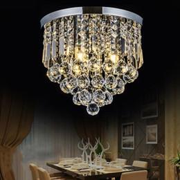 case moderne in vendita Sconti Plafoniera di cristallo a LED moderna corridoio / portico / corridoio / loft / camera da letto / sala da pranzo / sala lustro di cristallo lustro home decor lampade a soffitto