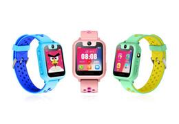 jugar relojes Rebajas IYURNIXNUHS Anti-Perdió el reloj inteligente con GPS y la cámara HD Juegos UI Dial Ultra largo Stand By Kid Monitor Watch para iOS Android