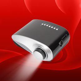 2019 menor tv lcd LED Mini Vídeo Portátil Pico Micro Mini Projetor Mini Projetor LED Mini Suporte para Home Cinema AV TV VGA HDMI OTH823 desconto menor tv lcd